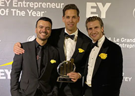 GS Media wins the 2019 EY Entrepreneur of the Year Award in Technology